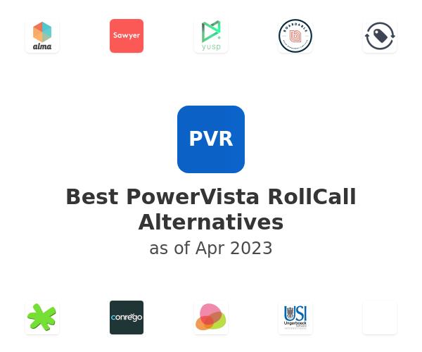 Best PowerVista RollCall Alternatives