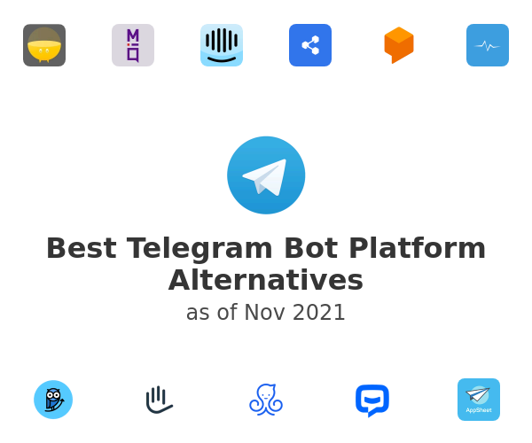 Best Telegram Bot Platform Alternatives