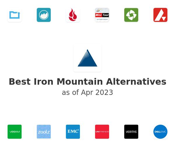 Best Iron Mountain Alternatives