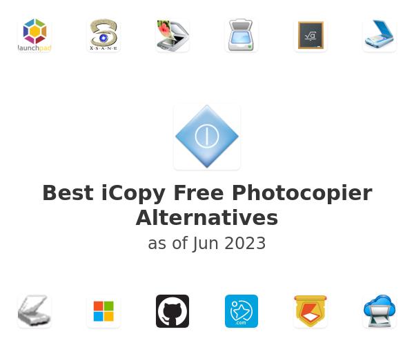 Best iCopy Free Photocopier Alternatives
