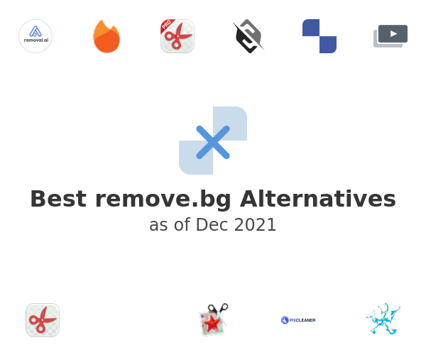 Best remove.bg Alternatives