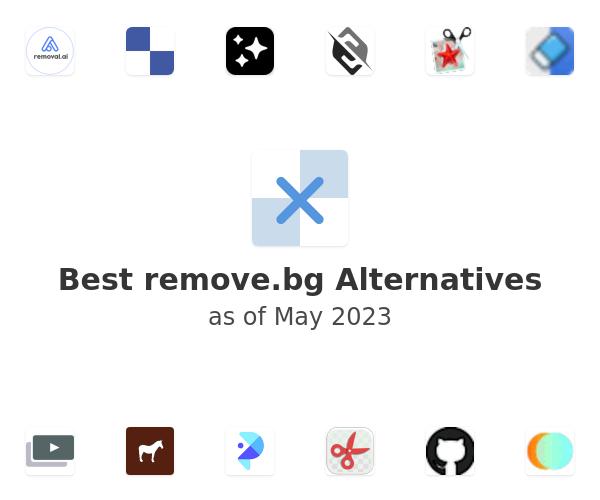 Best remove.bg Alternatives