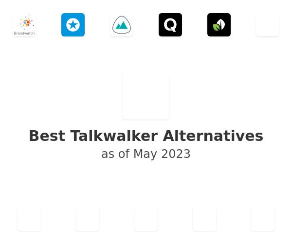 Best Talkwalker Alternatives