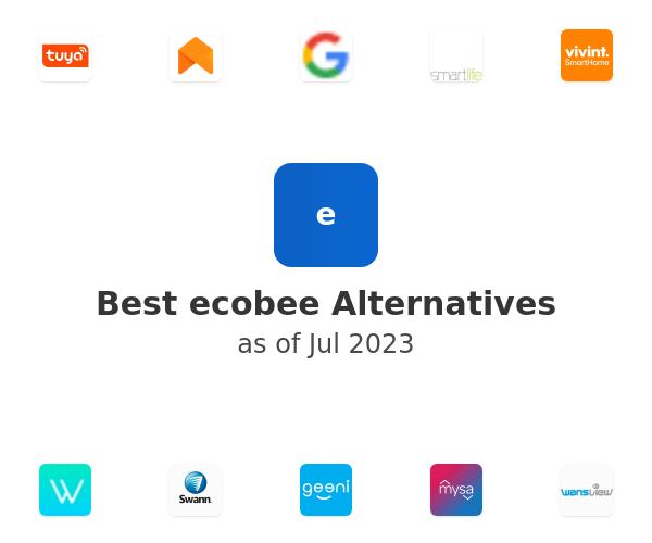 Best ecobee Alternatives