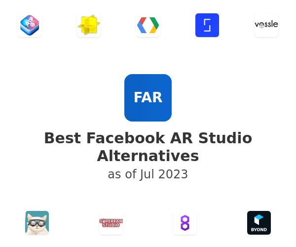 Best Facebook AR Studio Alternatives
