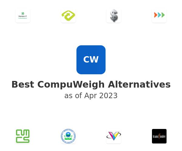Best CompuWeigh Alternatives