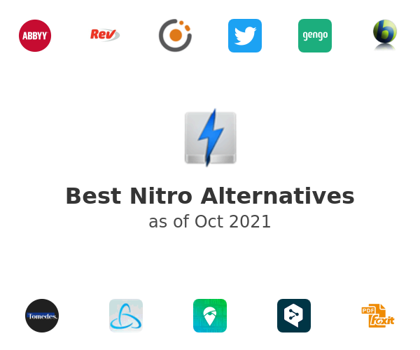 Best Nitro Alternatives