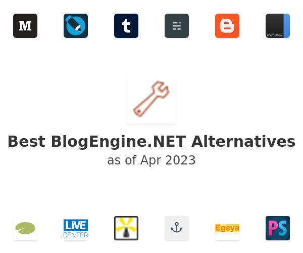 Best BlogEngine.NET Alternatives