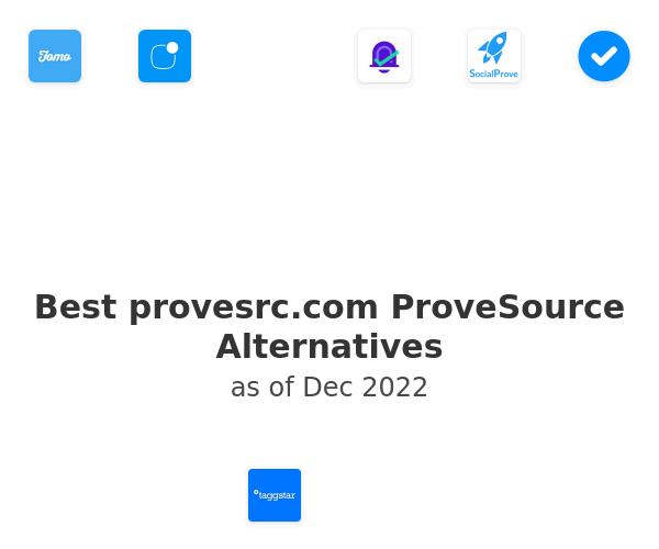 Best provesrc.com ProveSource Alternatives