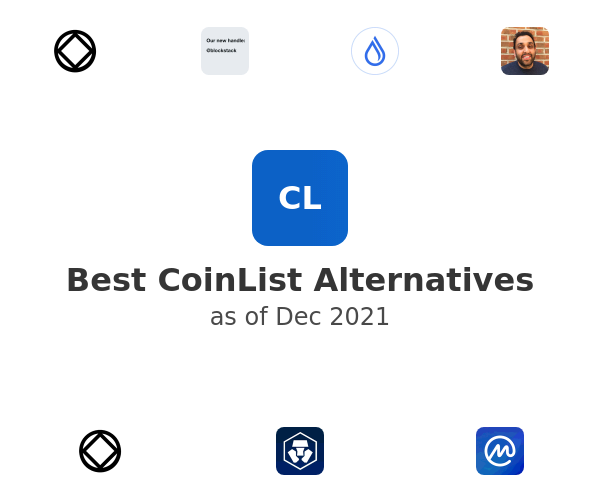 Best CoinList Alternatives