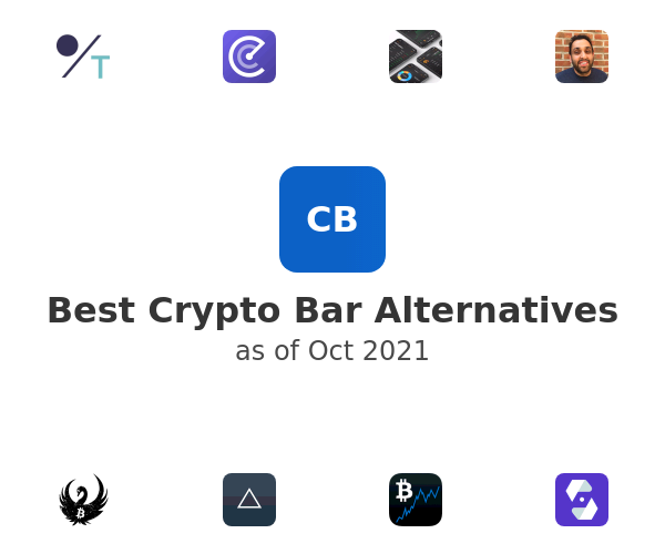 Best Crypto Bar Alternatives
