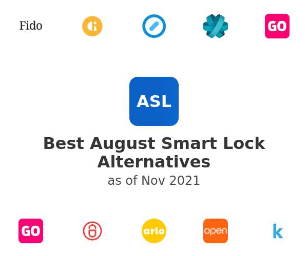 Best August Smart Lock Alternatives