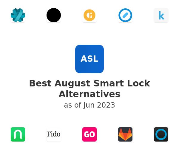 Best August Smart Lock Alternatives