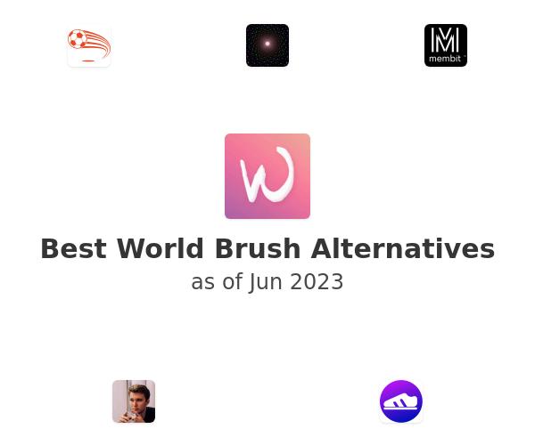 Best World Brush Alternatives