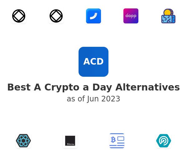 Best A Crypto a Day Alternatives