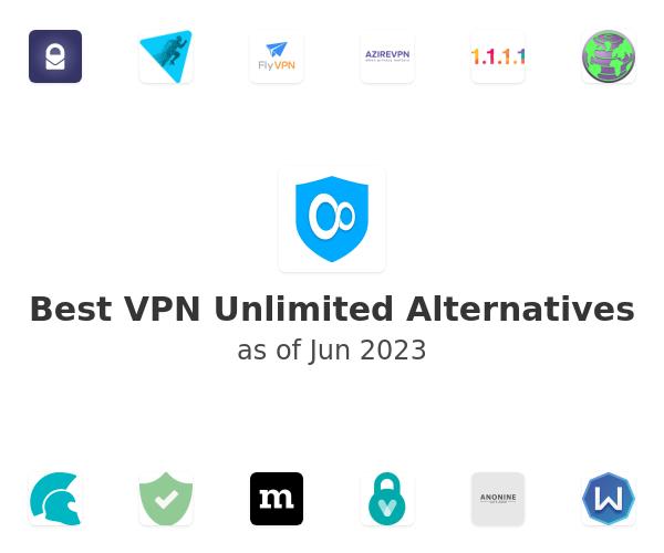 Best VPN Unlimited Alternatives