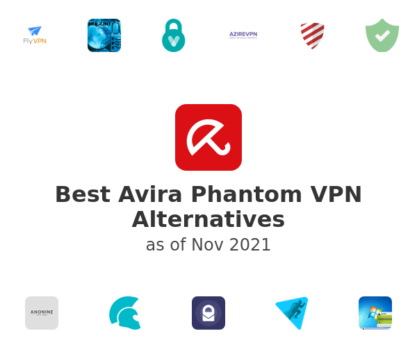 Best Avira Phantom VPN Alternatives