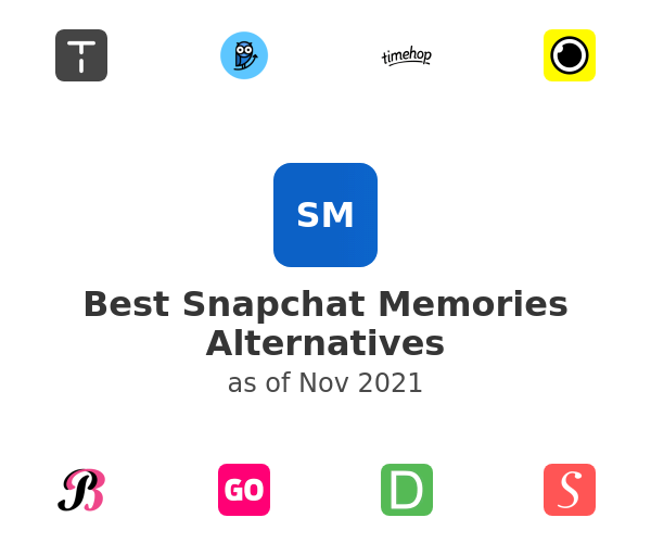 Best Snapchat Memories Alternatives