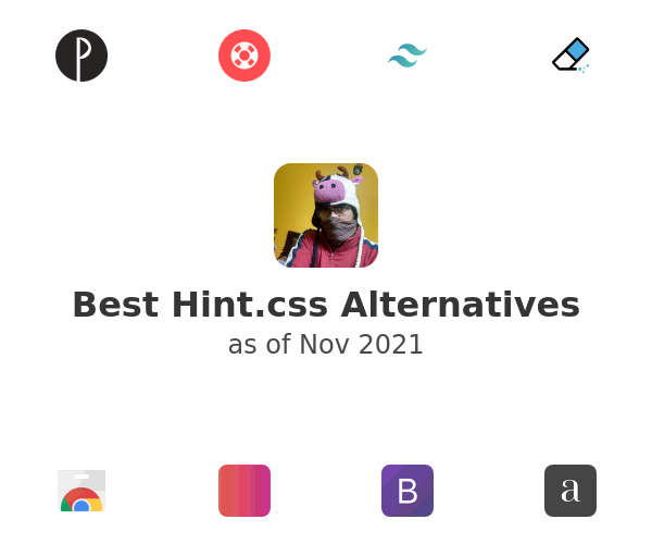 Best Hint.css Alternatives