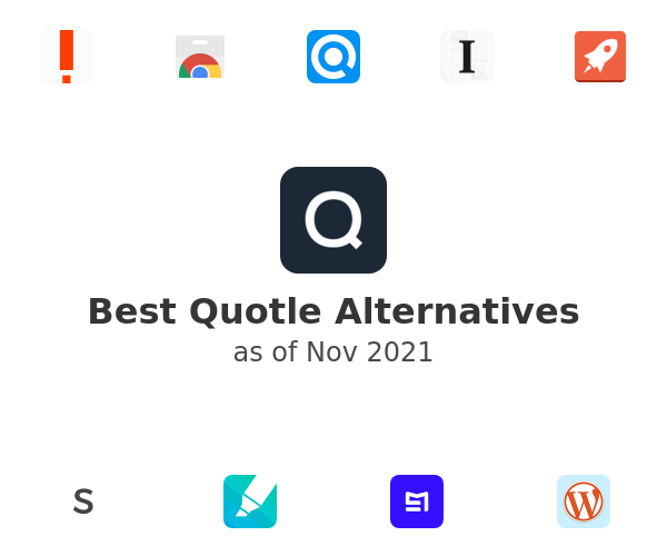 Best Quotle Alternatives