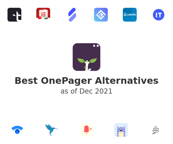 Best OnePager Alternatives
