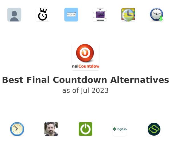 Best Final Countdown Alternatives