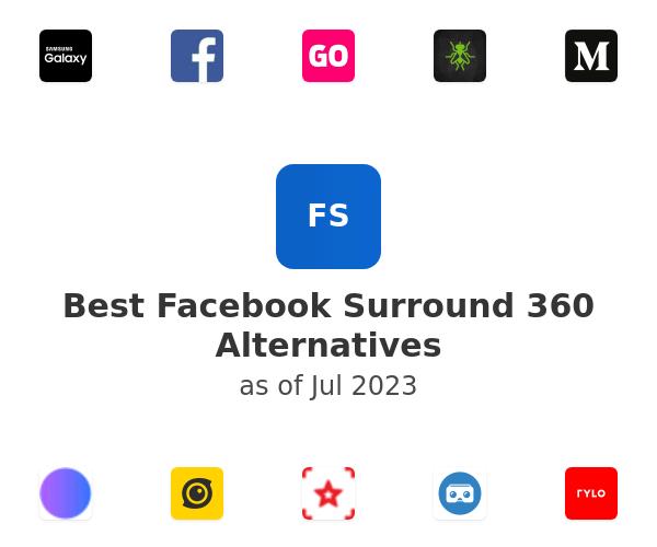 Best Facebook Surround 360 Alternatives
