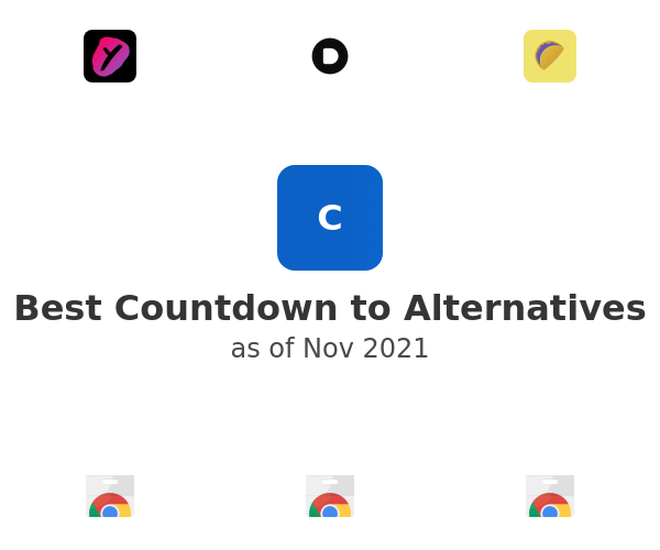 Best Countdown to Alternatives