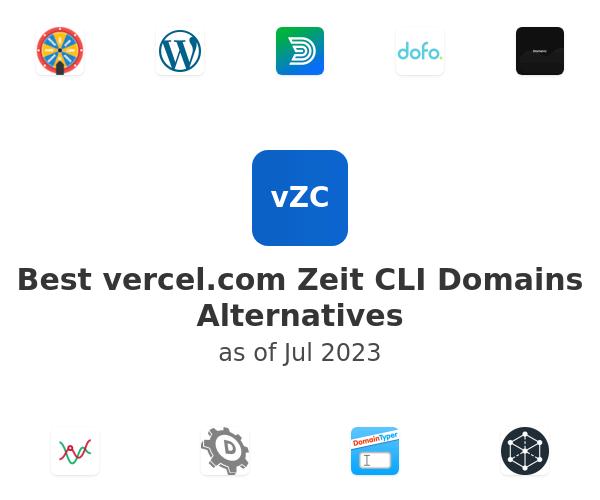 Best Zeit CLI Domains Alternatives
