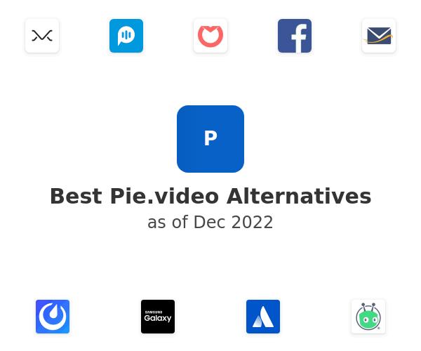 Best Pie.video Alternatives