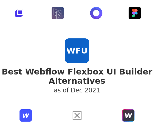 Best Webflow Flexbox UI Builder Alternatives