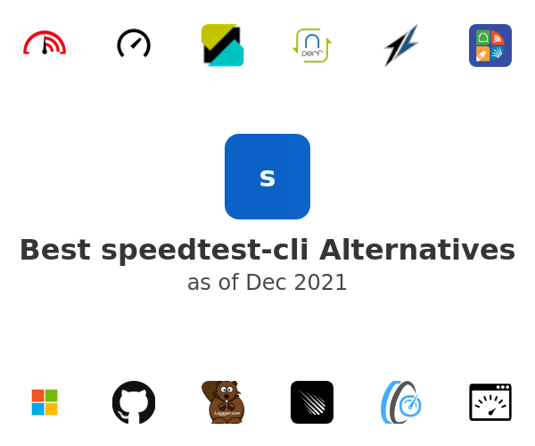 Best speedtest-cli Alternatives