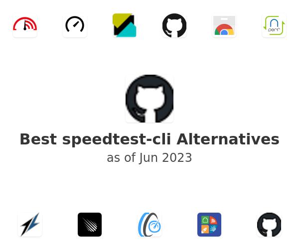 Best speedtest-cli Alternatives