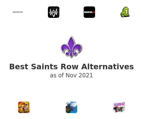 Best Saints Row Alternatives