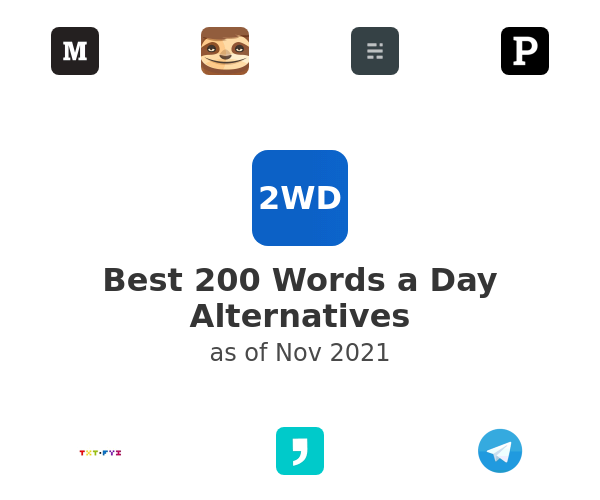 Best 200 Words a Day Alternatives