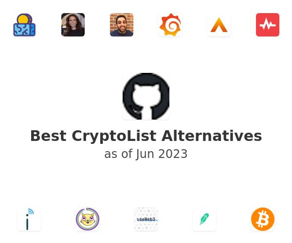 Best CryptoList Alternatives