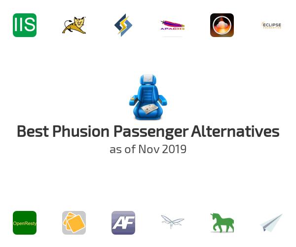 Best Phusion Passenger Alternatives