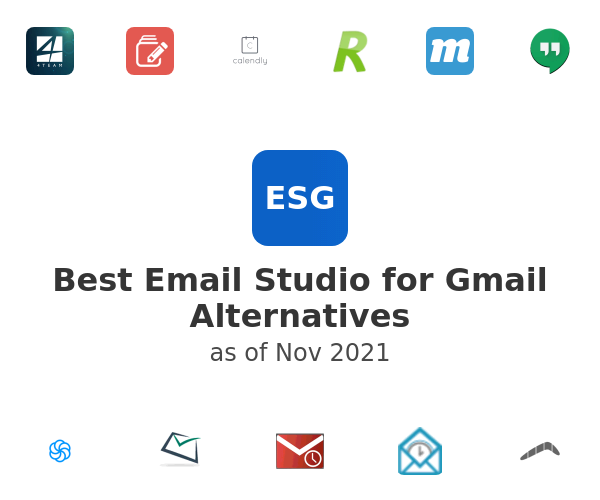 Best Email Studio for Gmail Alternatives