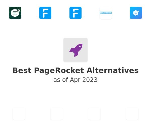 Best PageRocket Alternatives