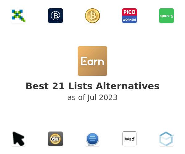 Best 21 Lists Alternatives