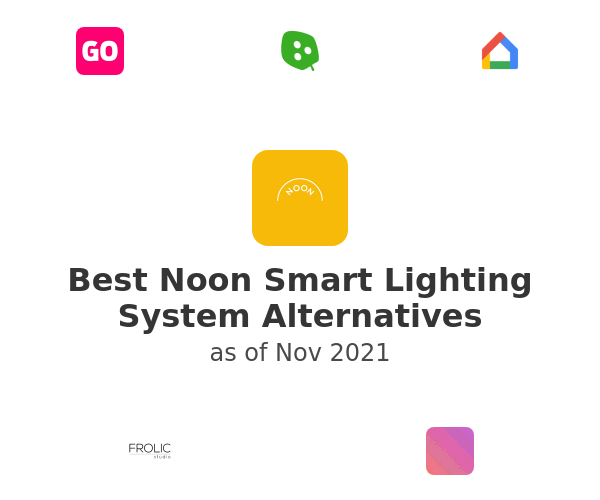 Best Noon Smart Lighting System Alternatives