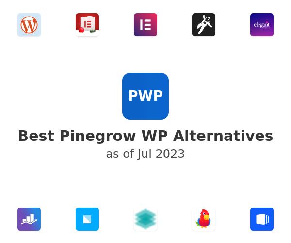 Best Pinegrow WP Alternatives