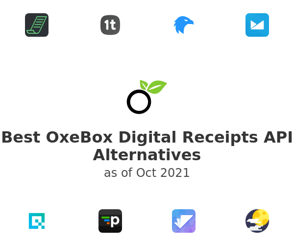 Best OxeBox Digital Receipts API Alternatives