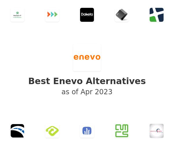 Best Enevo Alternatives