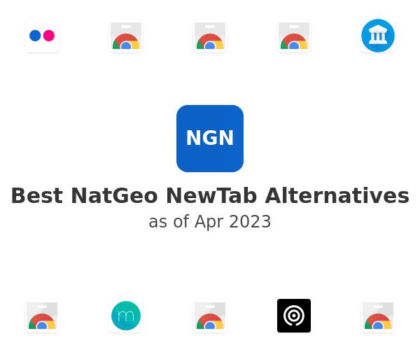 Best NatGeo NewTab Alternatives
