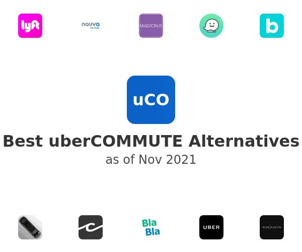 Best uberCOMMUTE Alternatives