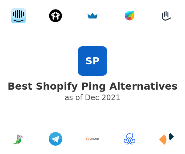 Best Shopify Ping Alternatives