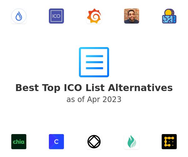 Best Top ICO List Alternatives