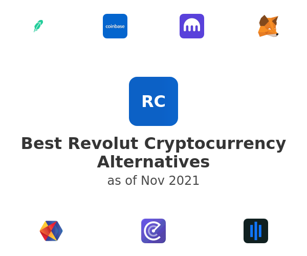 Best Revolut Cryptocurrency Alternatives