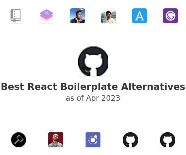 Best React Boilerplate Alternatives